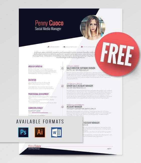 51 best RockStarCV - Resume Templates images on Pinterest - free resume format templates
