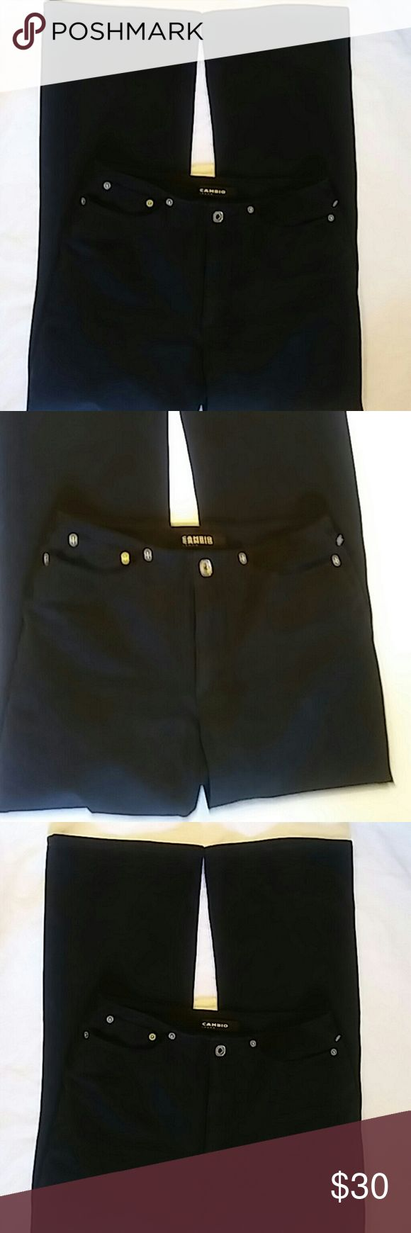 Cambio Kate Jeans Sz 8 95% Cotton..5% Elastane...Preowned Cambio Jeans Boot Cut