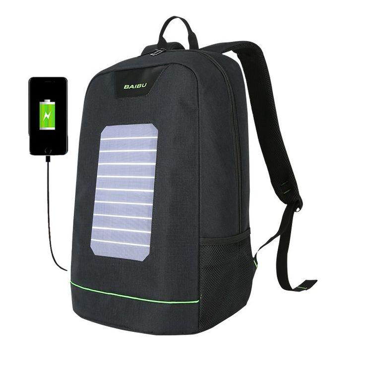 Best 25 Solar Powered Backpack Ideas On Pinterest Best