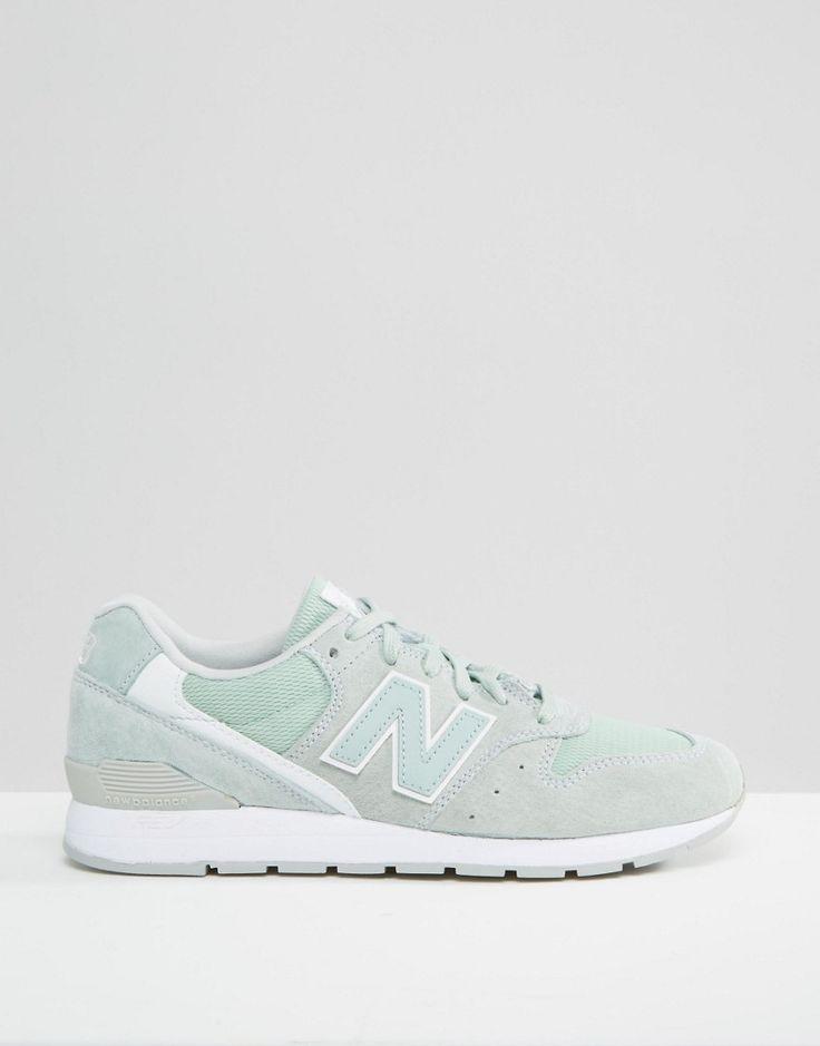 Bild 2 von New Balance – 996 – Minzgrüne Sneakers