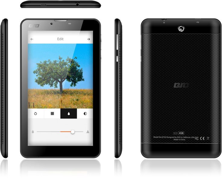 "QJO QPAD Q7 7.0"" Android Tablet 3G 4GB ROM 3.0MP Dual Camera Brand New Black #QJO #Smartphone"