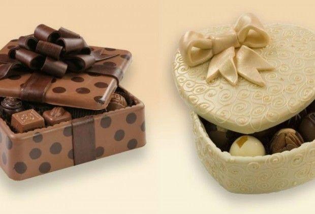 7 Απίθανα Γεμιστά Σοκολατάκια που Τρώγεται και το Κουτί.