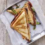 I Quit Sugar 8WP Recipe _ Cheesy Asparagus Toastie