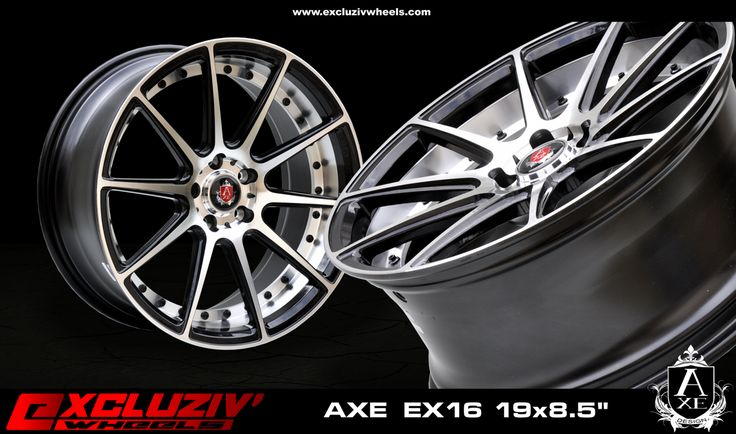 Jante Axe Ex16 Dimension 19x8 5 Quot Excluziv Wheels Axe