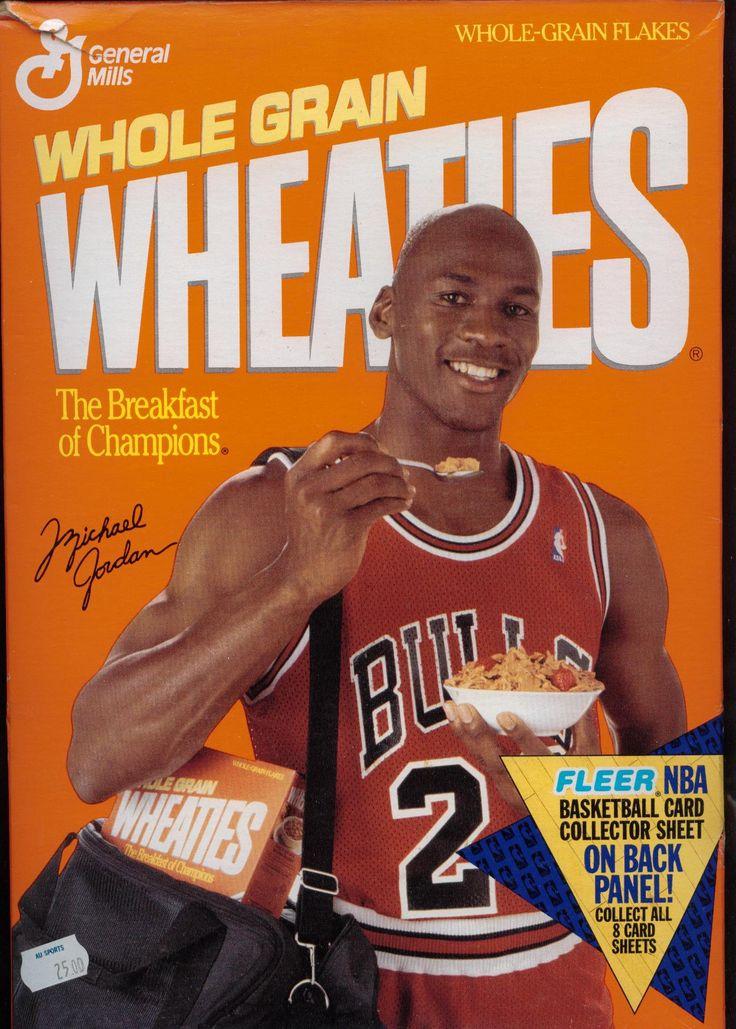 Michael Jordan for Wheaties