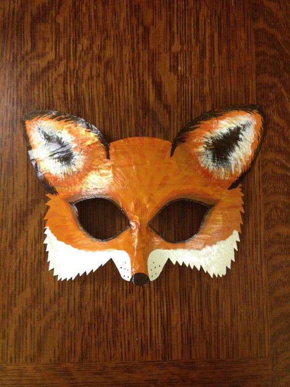 fox mask, fox costume, Mr. and Mrs. Fox, fox and hound