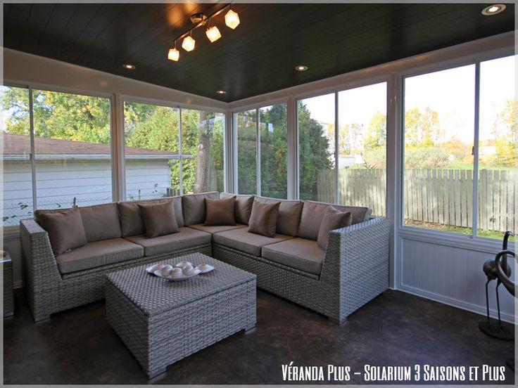 veranda avec moustiquaire - Recherche Google | Solarium, Décoration maison, Aménagement intérieur