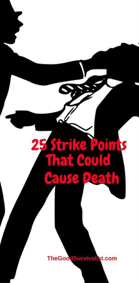 Please only use this for self defense. The following list reveals methods, and techniques that could kill an attacker with your bare hands. http://www.thegoodsurvivalist.com/25-strike-points-that-could-cause-death-use-only-if-your-life-is-on-the-line/