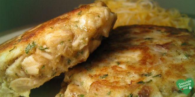 Eierfrikadellen mit Hühnerbrust, low carb Diät rezept