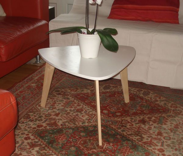 DIY table basse style années 50