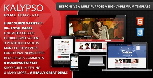 KALYPSO Highly-Premium Multipurpose Template