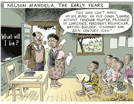 Nelson Mandela - The Early Years