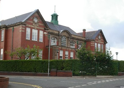 Cowley High School for Girls; South Block, complete with haunted lecture theatre