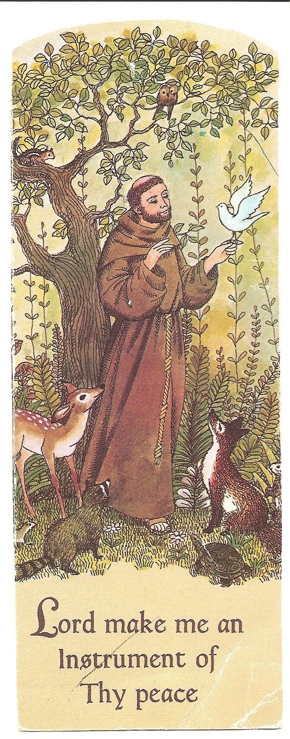 Prayer of St Francis at Practical Pages  Lord, make me an instrument of thy peace