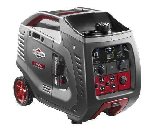 Briggs-Stratton-30545-P3000-PowerSmart-3000-Watt-Inverter-Generator-with-4-120-Volt-AC-Outlets-1-12-Volt-DC-Outlet-0