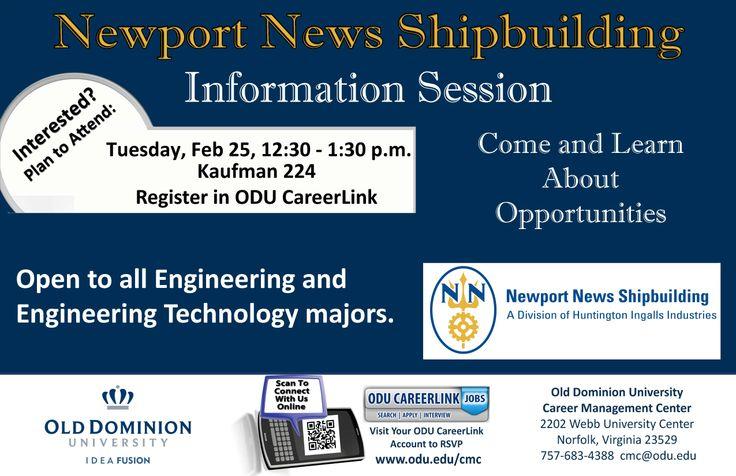 Meet representatives from Newport News Shipbuilding