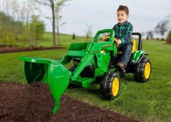 Battery Powered Ride On Toys For Toddlers >> John Deere Mowers Ride On Toy 12v Battery Powered Toddler Garden Tractor Scooter #PegPerego ...