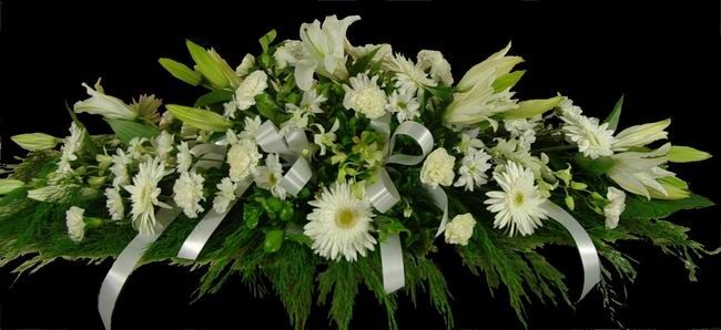 Sympathy Flowers | Funeral Casket Spray