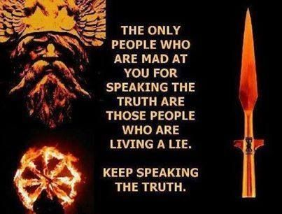 . speak truth against the depravity known as religion