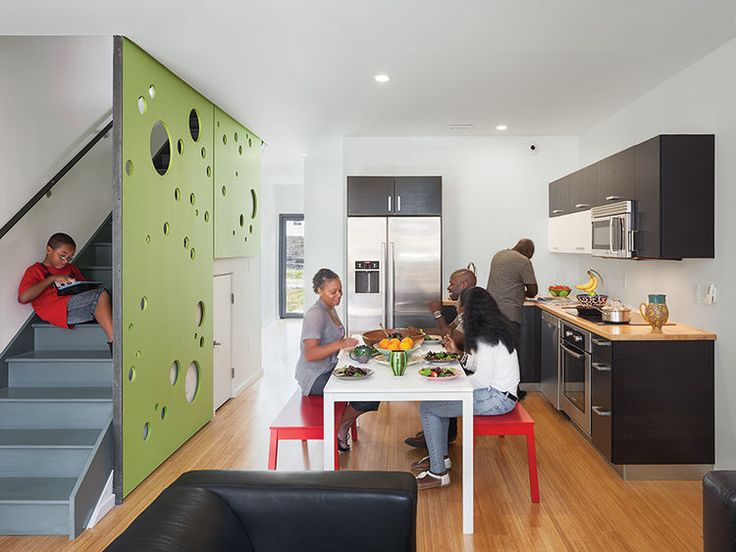 Modern Single Family Affordable Housing Chicago   Google Search