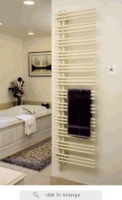 Best Towel Warmers Images On Pinterest Towels Towel Warmer - Heated bathroom floor systems for bathroom decor ideas
