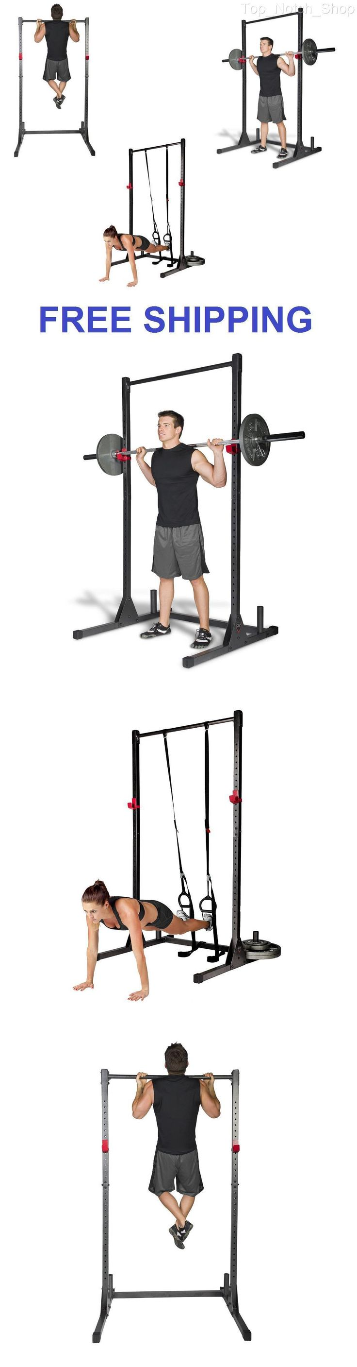 Pull Up Bars 179816: Home Gym Pull Up Bar Power Rack Exercise Stand Body Building Workout Fitness New BUY IT NOW ONLY: $111.99