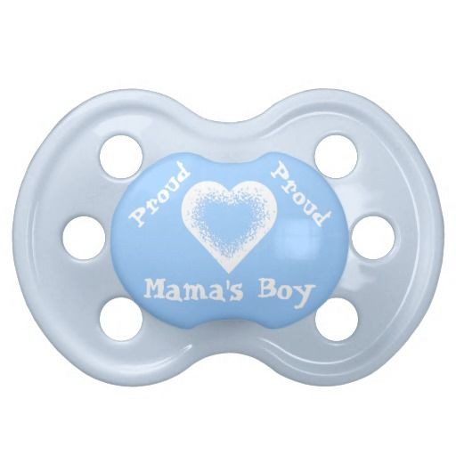 Proud Mama's Boy Pacifier. Baby and Kids Stuff. Cute Birthday Shirts for Boys and Girls, First Watch for Kids, Aprons, Personalized Pacifiers and more. See More Personalize Baby Gifts and Customizable Kids Stuff CLICK HERE: http://www.zazzle.com/littlelindapinda/gifts?cg=196511388019813664&rf=238147997806552929*/   ALL of Little Linda Pinda Designs CLICK HERE: http://www.Zazzle.com/LittleLindaPinda*/