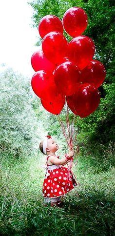 Red little girl :) <3