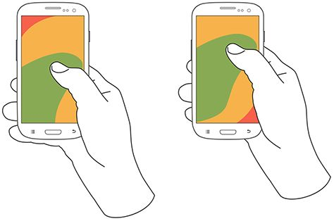 Why is it important to have also bottom menu! Think about the areas the user can touch with his thumb.