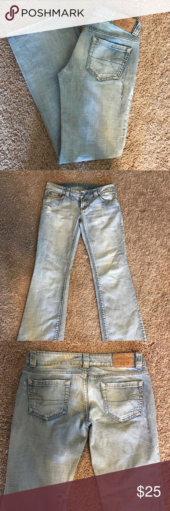 American Eagle Outfitters Jeans American Eagle Jeans - Boyfriend 77                                            Size: 6 REG American Eagle Outfitters Jeans Boyfriend
