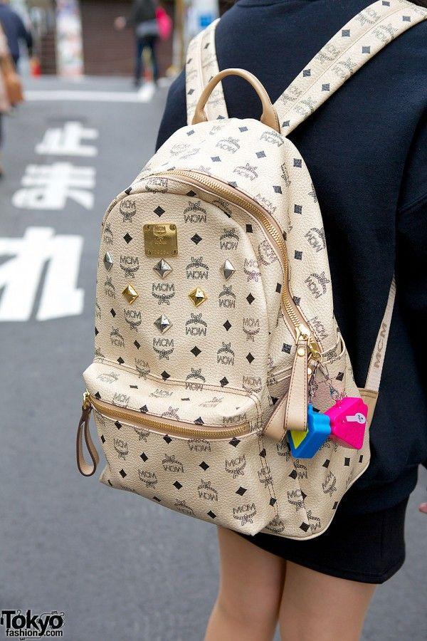 Tokyo Fashion MCM Backpack. bag, сумки модные брендовые, bag lovers,bloghandbags.blogspot.com