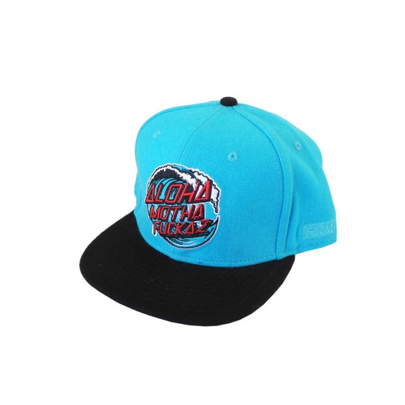 The Firm Hawaii AMF Wool Blue / Black Snapback