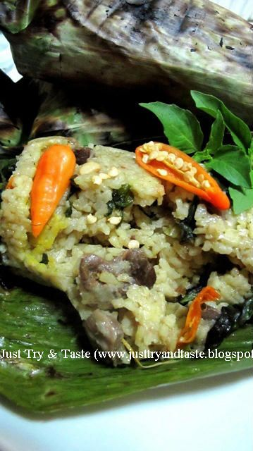 Just Try & Taste: Nasi Pepes Bakar