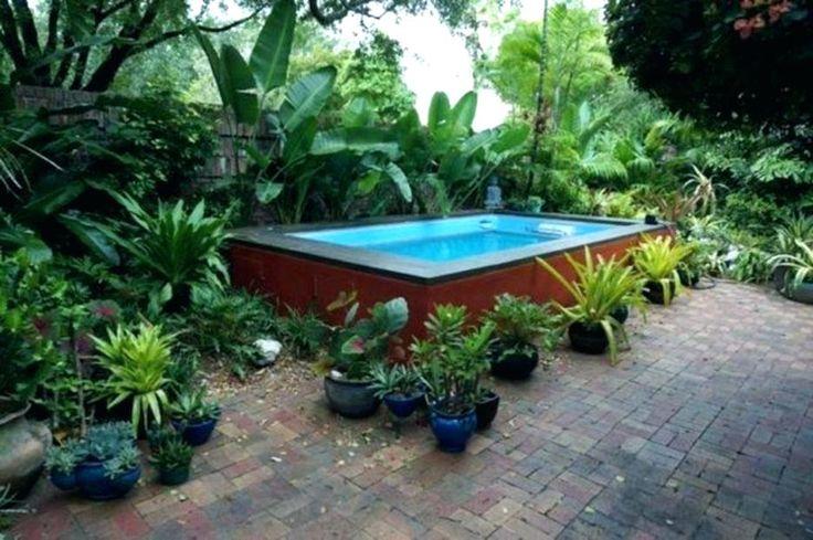 20 luxuosos projetos de piscinas acima do solo   – Pool landscape