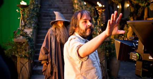 Peter Jackson Builds Bag End Behind a Bookcase in His New Zealand Mansion