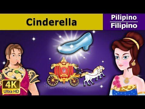 Si Cinderella - Kwentong Pambata - Pambatang Kwento - 4K UHD
