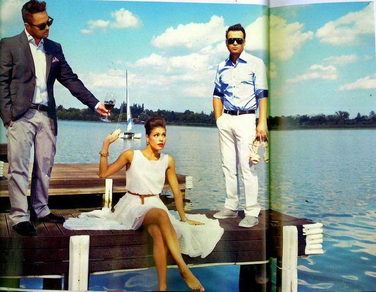 Parlor for Viva Magazine! #parlor #fashion #blue #summer #love