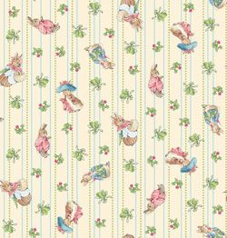 Beatrix Potter Garden Tales Fabric