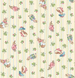 Beatrix Potter Garden Tales Fabric