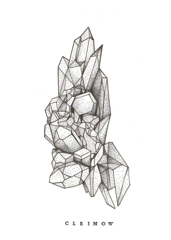 Crystal tattoo
