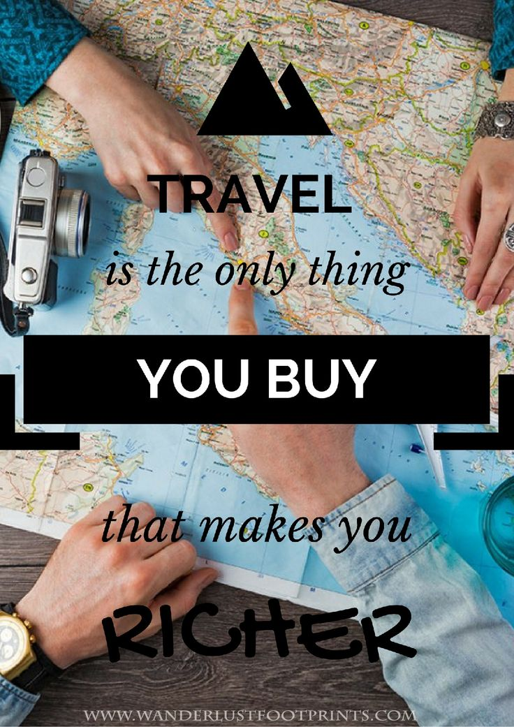 Travel Motivation Inspiring Quotes. Here you will find out why Traveling will make you happier in your daily life!!