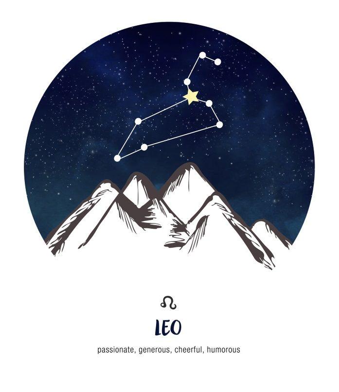 Leo ~ passionate, generous, cheerful, humorous