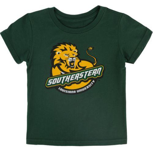 Gen2 Toddlers' Southeastern Louisiana University Primary Logo Short Sleeve T-shirt (Green Dark, Size