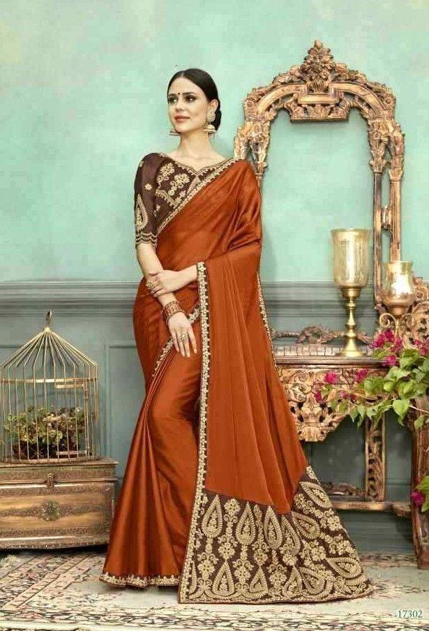 Cotton Silk Traditional Saree Sari Pakistani Indian Wedding Wear Sari Blouse