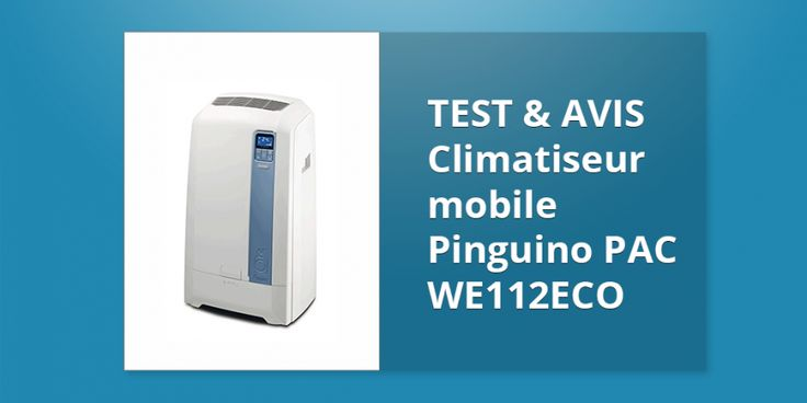 Climatiseur mobile Pinguino PAC WE112ECO