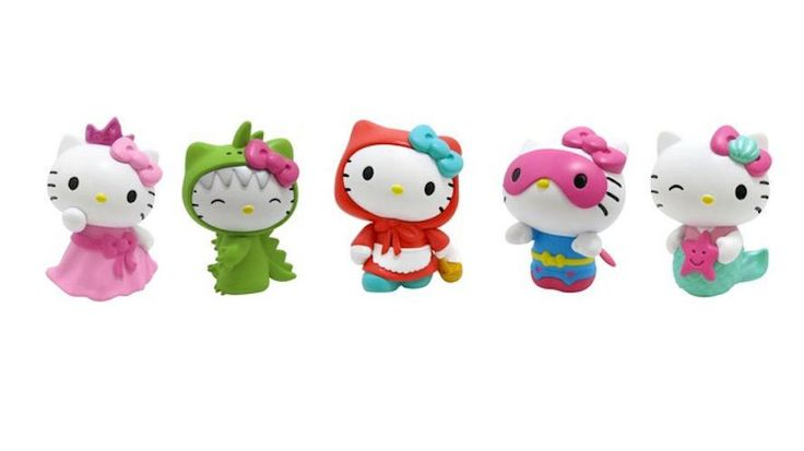 Hello Kitty Collectible Figure Set - 5 Pack