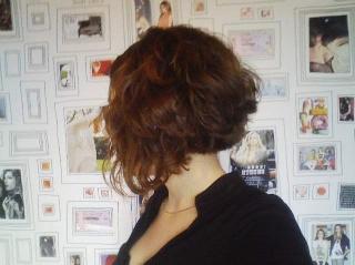 carr plongeant boucl coiffure pinterest. Black Bedroom Furniture Sets. Home Design Ideas