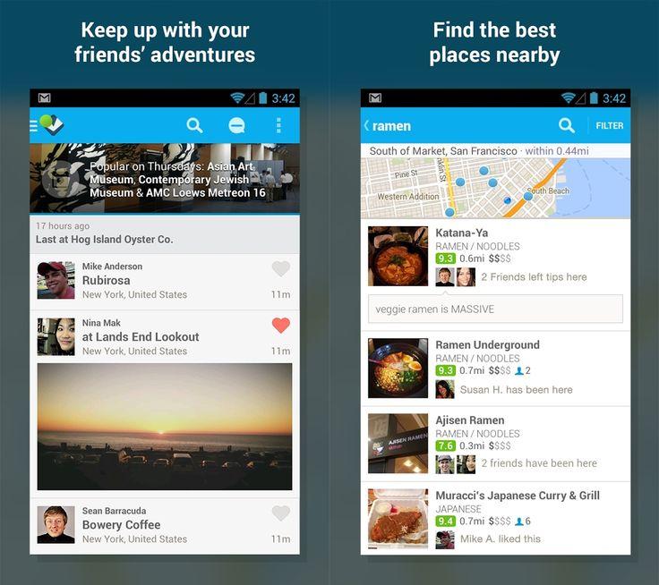 foursquare ui - Google Search