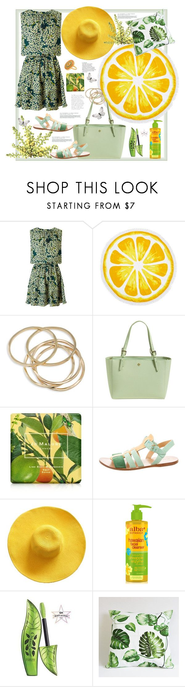 """""""Something green"""" by natalyapril1976 on Polyvore featuring Mode, Maison Scotch, Nordstrom Rack, ABS by Allen Schwartz, Tory Burch, Jo Malone und Balenciaga"""