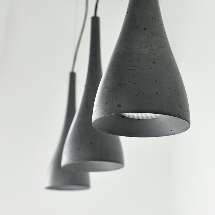 Concrete lighting Gravelli Ocun
